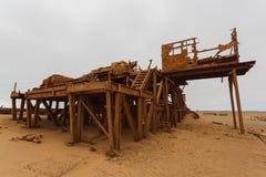 Estación de la extracción de aceite Foto de archivo libre de regalías