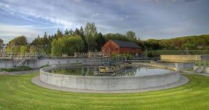 Estación de la limpieza del agua Fotos de archivo libres de regalías