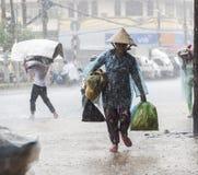 Estación de la lluvia en Asia sudoriental Foto de archivo libre de regalías