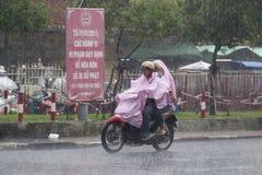Estación de la lluvia en Vietnam, Asia sudoriental fotos de archivo