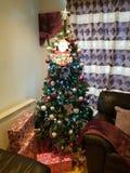 Estación de la Navidad foto de archivo libre de regalías