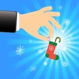 Estación de la Navidad Fotografía de archivo libre de regalías