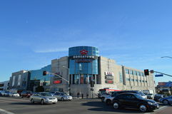 Estación de la Navidad de Los Ángeles del Galleria de Koretown Foto de archivo