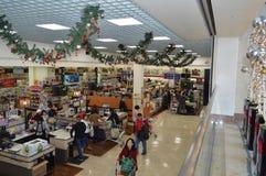 Estación de la Navidad del supermercado del Galleria de Koretown Fotos de archivo