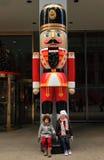 Estación de la Navidad en Nueva York fotografía de archivo