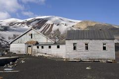 Estación de la pesca de ballenas, ant3artida Imagen de archivo