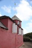 Estación de la señal de la colina del arma, Barbados Imagen de archivo libre de regalías