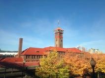 Estación de la unión en Portland Oregon Imagenes de archivo