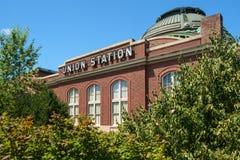 Estación de la unión en Tacoma, WA foto de archivo libre de regalías