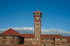 Estación de la unión, Portland, Oregon Fotografía de archivo libre de regalías
