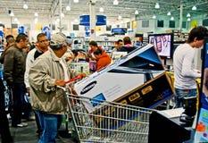 Estación de las compras Fotografía de archivo libre de regalías