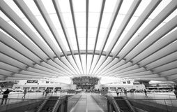 Estación 2 de Lisbona Oriente Foto de archivo libre de regalías