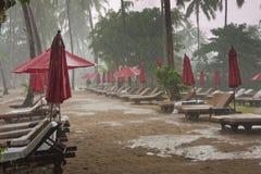 Estación de lluvias Fotos de archivo libres de regalías