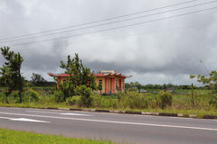 Estación de lluvias en las zonas tropicales, Mauricio Imagen de archivo