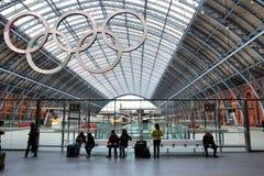 Estación de Londres Fotografía de archivo libre de regalías