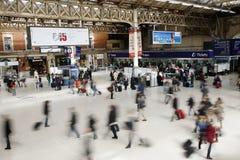Estación de Londres Victoria Fotografía de archivo