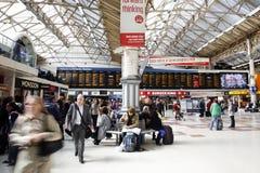 Estación de Londres Victoria Imagenes de archivo