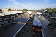 Estación de Maitland, Australia Imagenes de archivo