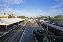 Estación de Maitland, Australia Imágenes de archivo libres de regalías