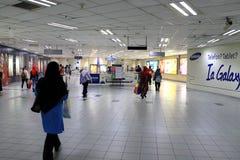 Estación de Masjid Jamek LRT Imagen de archivo