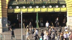 Estación de Melbourne, Melbourne, Australia metrajes
