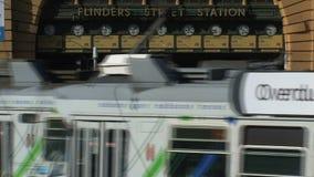 Estación de Melbourne, Melbourne, Australia almacen de video