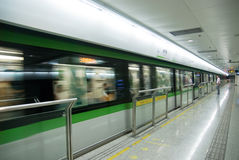Estación de metro Imagenes de archivo