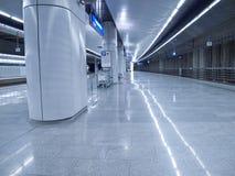 Estación de metro Imagen de archivo libre de regalías