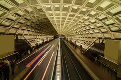 Estación de metro Imágenes de archivo libres de regalías