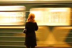 Estación de metro foto de archivo