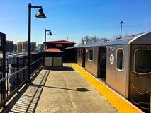 Estación de metro de Bedford Park Blvd en el Bronx -5 fotos de archivo