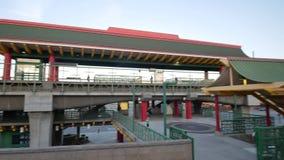 Estación de metro de Chinatown en Chinatown almacen de video