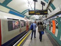 Estación de metro de Londres Imagenes de archivo