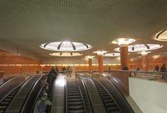 Estación de metro de Moscú Fotografía de archivo libre de regalías