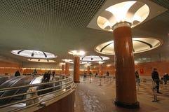 Estación de metro de Moscú Foto de archivo