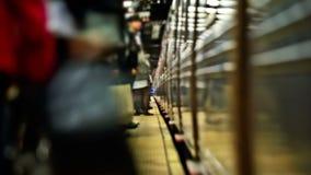 Estación de metro de Nueva York metrajes