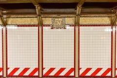 57.a estación de metro de Streen - Manhatan, Nueva York Foto de archivo