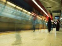 Estación de metro de Taksim, Estambul, Turquía Imagen de archivo