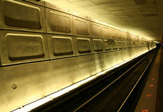 Estación de metro de Washington Imagenes de archivo