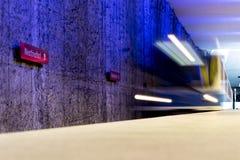 Estación de metro de Westfriedhof Imagen de archivo libre de regalías