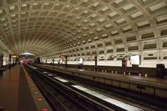 Estación de metro del Washington DC Imágenes de archivo libres de regalías