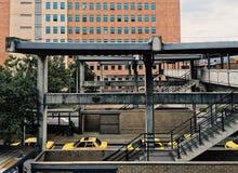 Estación de metro en el ¼ i de Itagà fotos de archivo
