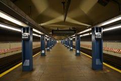 Estación de metro de la calle de York foto de archivo