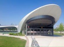 Estación de metro de la universidad de York en Toronto imagenes de archivo
