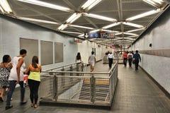 Estación de metro, Nueva York Imagenes de archivo