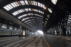 Estación de Milan Central Fotos de archivo libres de regalías