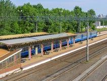 Estación de Minsk Nord Fotos de archivo
