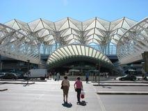 Estación de Oriente, Lisboa Imagen de archivo libre de regalías
