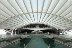 Estación de Oriente, Lisboa fotos de archivo libres de regalías