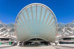 Estación de Oriente, Lisboa foto de archivo libre de regalías